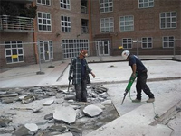 concrete repair contractor Baltimore